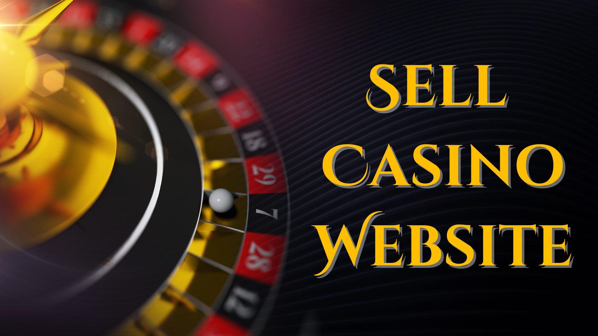 sell casino website