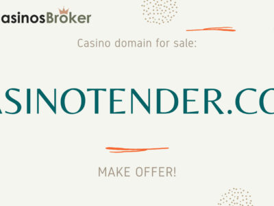 Casino domain sale - CasinoTender.com