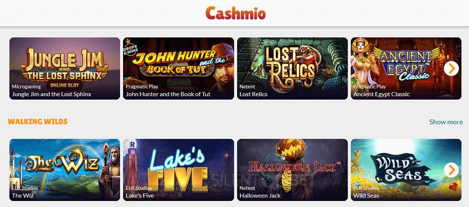 permainan kasino cashimo