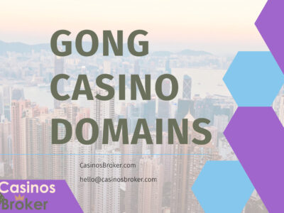 Two Gong Casino Domains for Sale