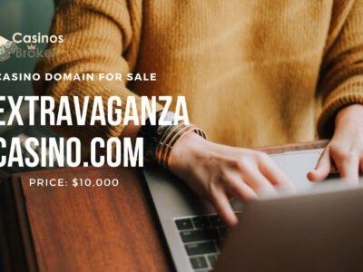 Gambling domain for sale: ExtravaganzaCasino.com